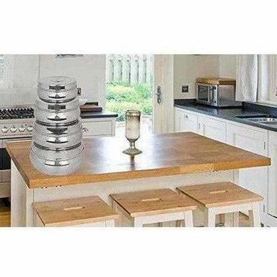 Stainless Steel Food Storage Containers - Storage Boxes - Set Of 4 Pieces