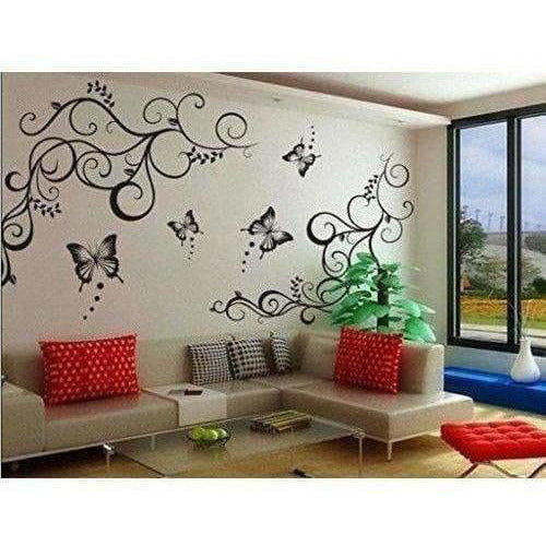 Lovely Black Butterflies Wall Sticker