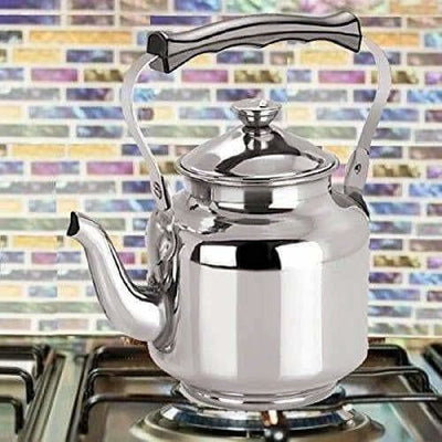Stainless Steel Capsulated Base Tea Kettle with Infuser - Distacart