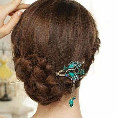 Colourful Rhinestone Hair Pin