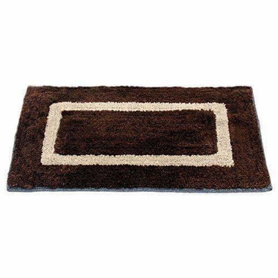 "Handicraft Style Eco Series 2 Piece Cotton Blend Door Mat - 16""x24"", Grey and Brown"