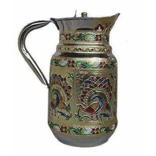 Stainless Steel -  Water Pitcher (Multicolour)