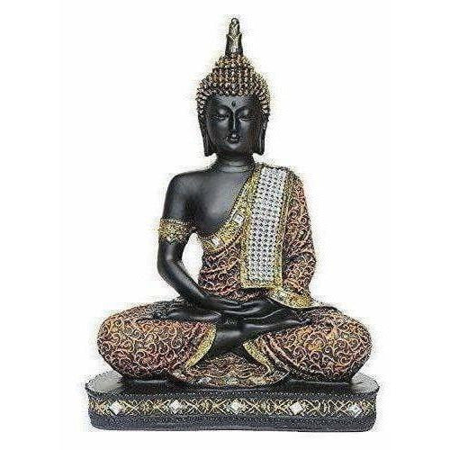 Sitting Buddha Idol Statue - Showpiece