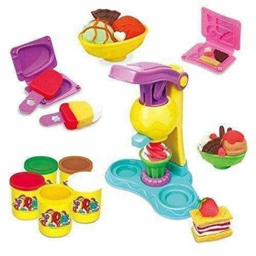 Ice Cream Clay Vending Machine Play Set