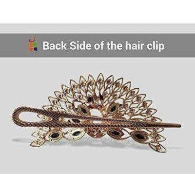 Peacock Hair Band / Hair Clip