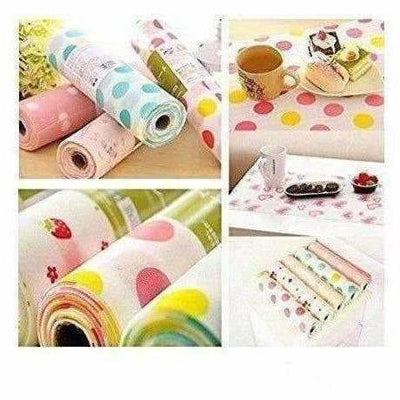 Kitchen Cupboard Liners, Refrigerator, Table Mats