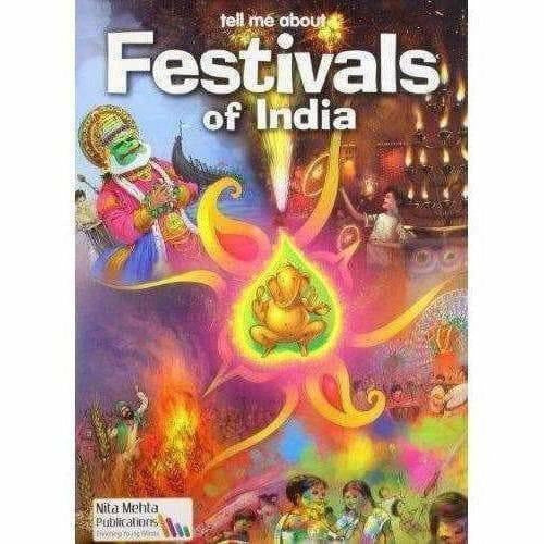 Tell Me About Festivals of India -Author By Anurag Mehta - Distacart