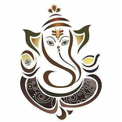 Design Decals Ganesha Wall Sticker