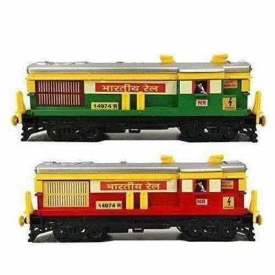 Train Engine (Set Of 2 Pice) (Green And Red)