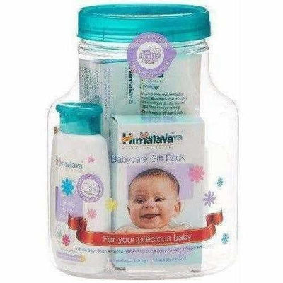 Himalaya Herbals Babycare Gift Jar (Soap, Shampoo, Rash Cream and Powder)
