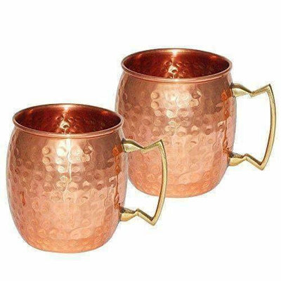 Drinkware Copper Mugs Set of 2