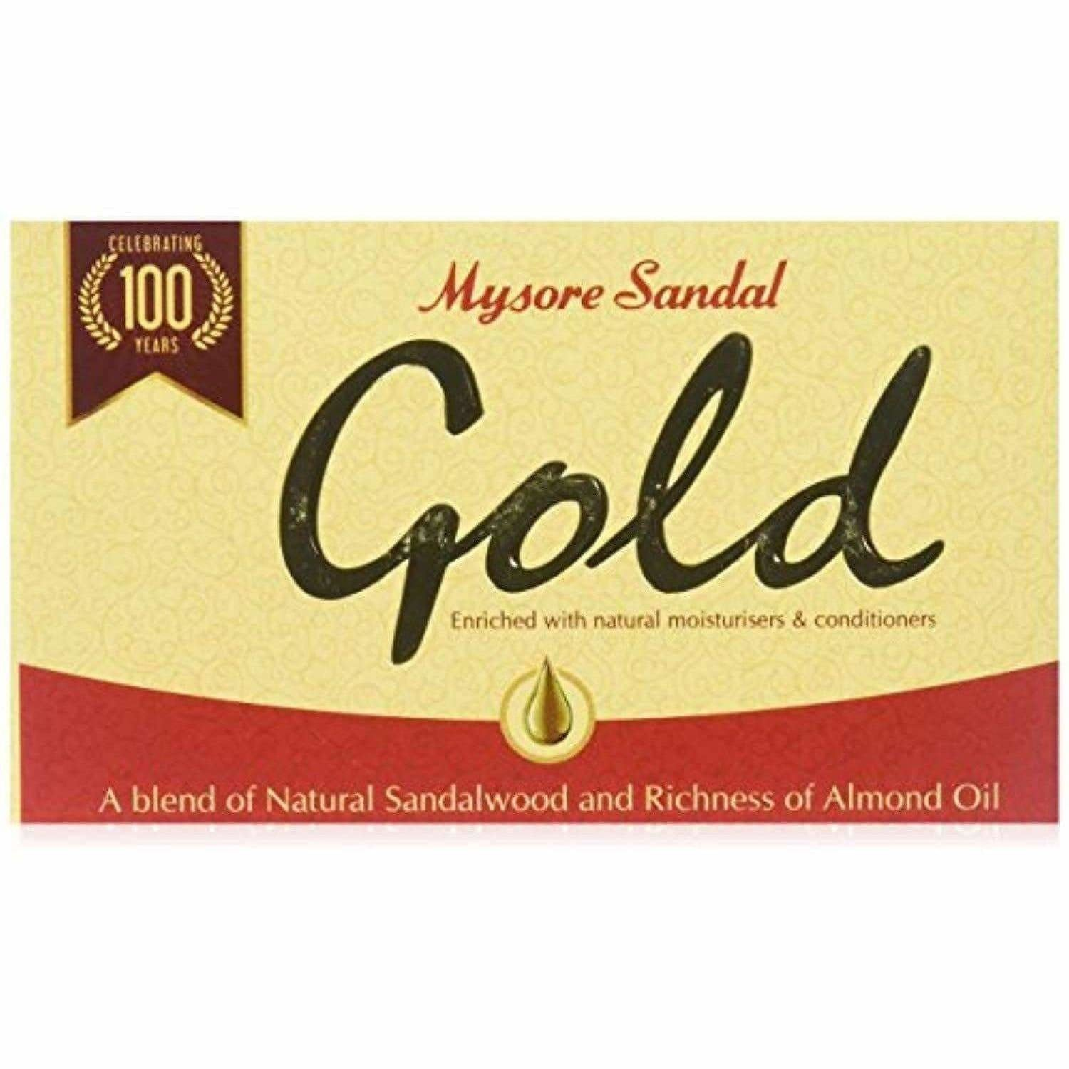 Mysore Sandal Gold Soap - Dista Cart