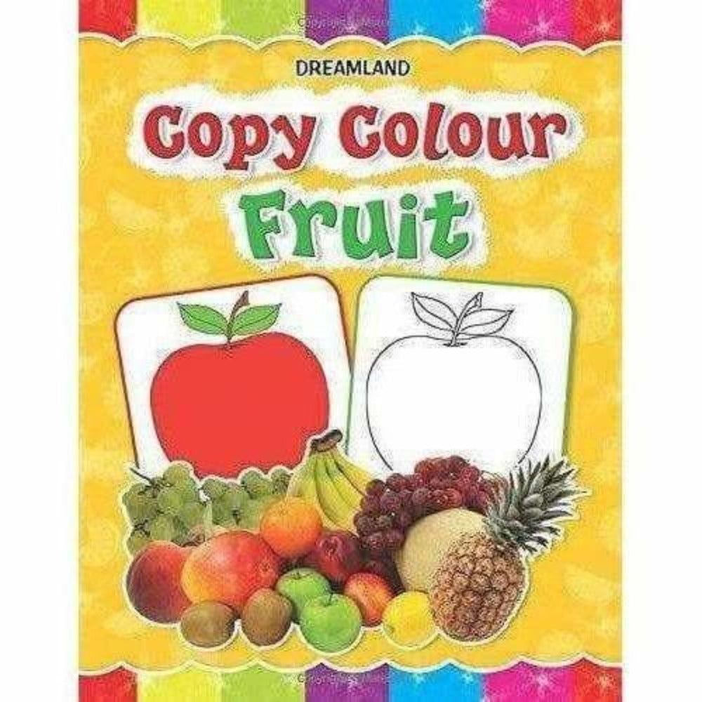 Fruits -  Copy Colour Book - Distacart