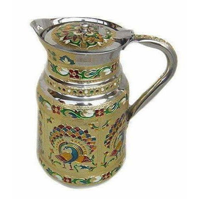 Stainless Steel -  Water Pitcher (Multicolour) - Distacart
