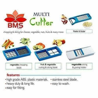Blue Color - Premium Nicer vegetables and fruits Slicer Chippers and chopper