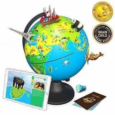 The Educational, Augmented Reality Based Globe for Kids, 4-10 Years