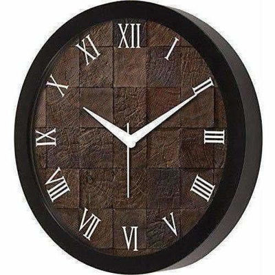 Roman Numbers with Designer Wall Clock for Home