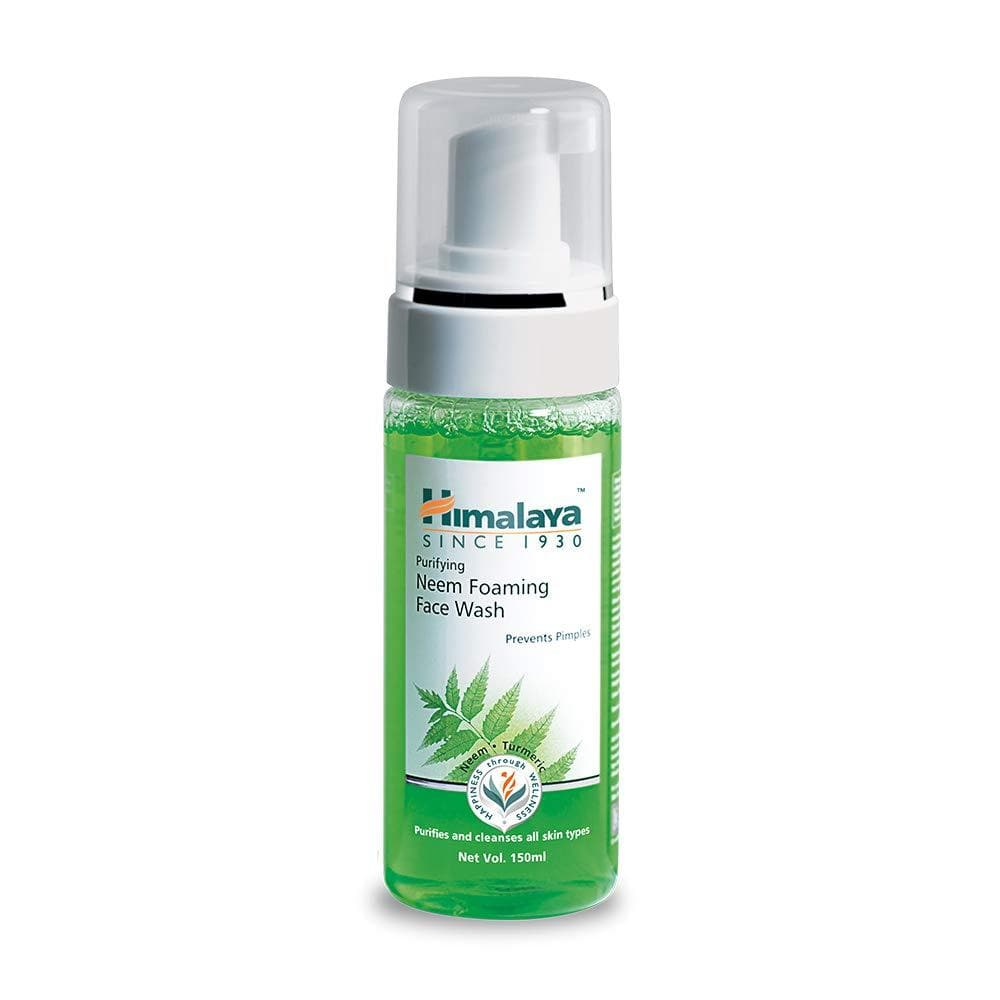 Himalaya Herbals Purifying Neem Foaming Face Wash - Distacart