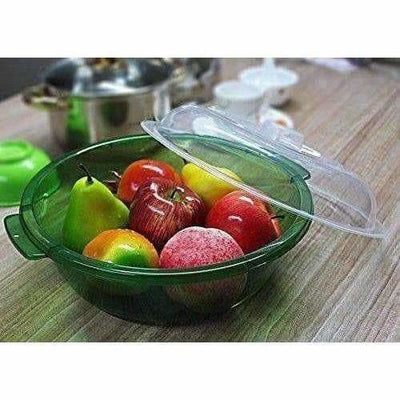 Multipurpose Double Layer Plastic Sieve Drainer Bowl - Distacart