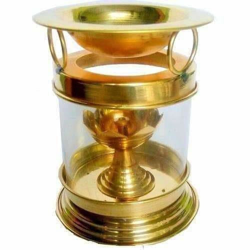 Brass Diya Oil Lamp