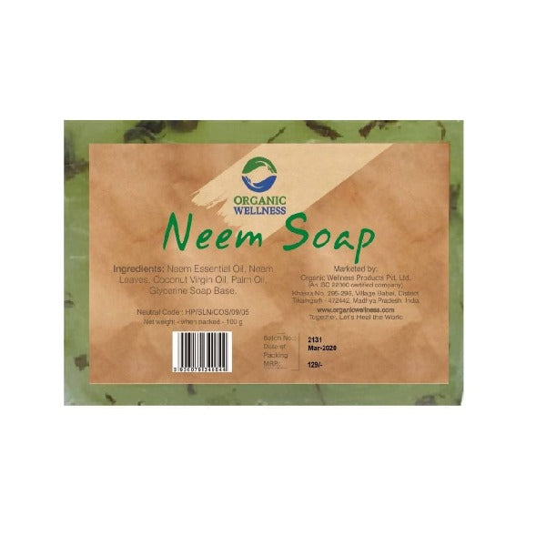 Organic Wellness Neem Soap