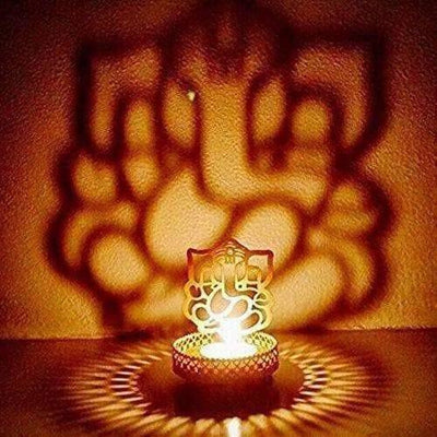 Lord Ganesh Light Holder