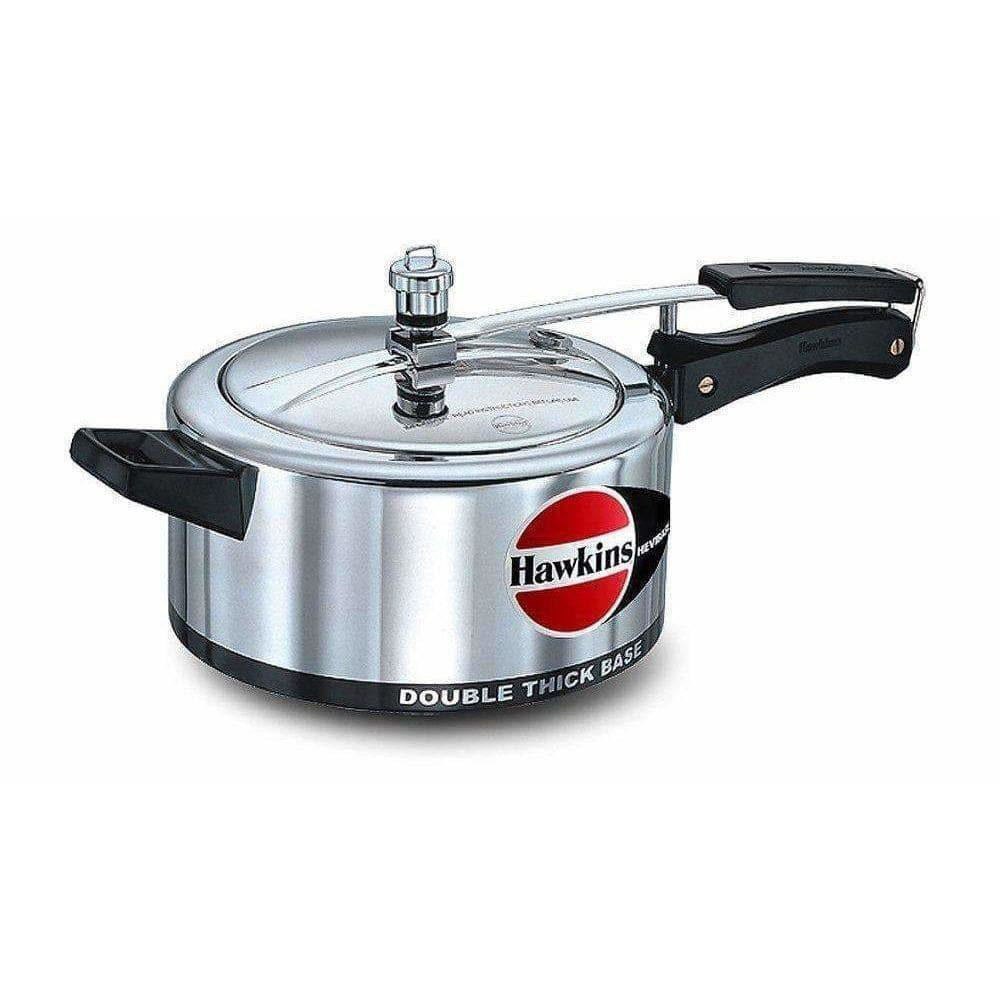 Double Thickness Base - Aluminum Pressure Cooker, 3.5 Litres