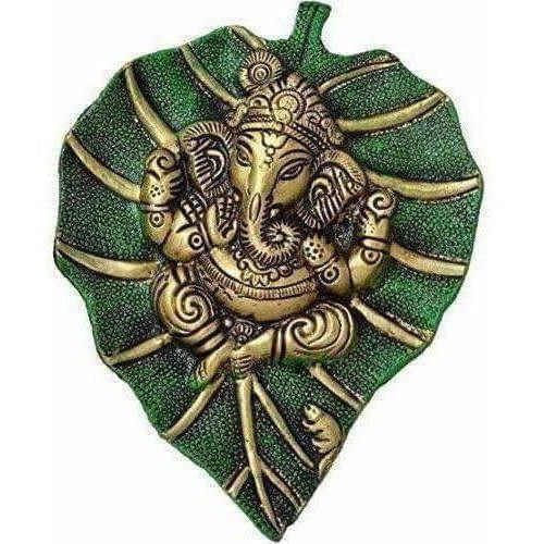 Designer Patta Ganesha Wall Hanging Showpiece - Dista Cart