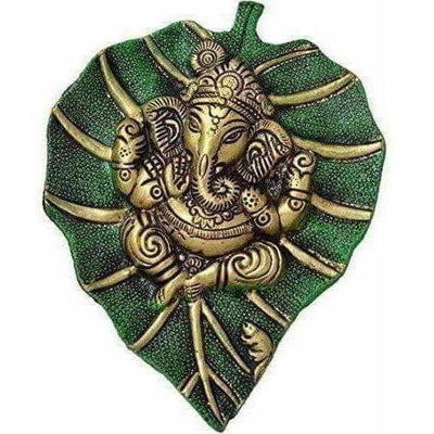 Designer Patta Ganesha Wall Hanging Showpiece