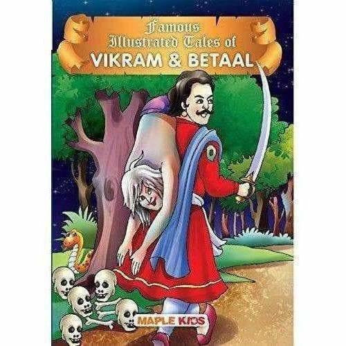 Vikram & Betal (Illustrated) By Maple Press