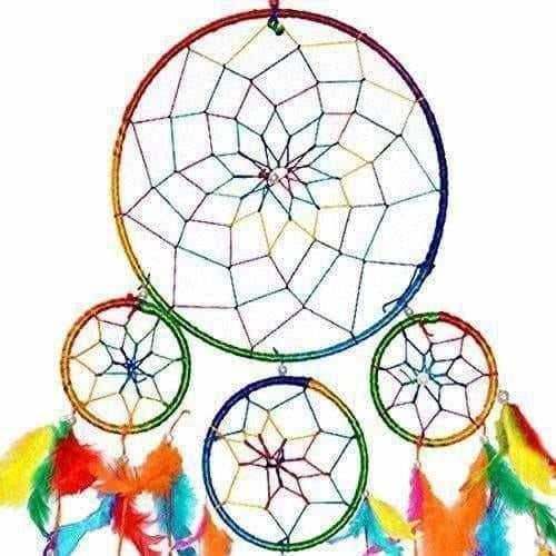 Crystal Product Dream Catcher Wall Hanging for Positive Energy - Dista Cart