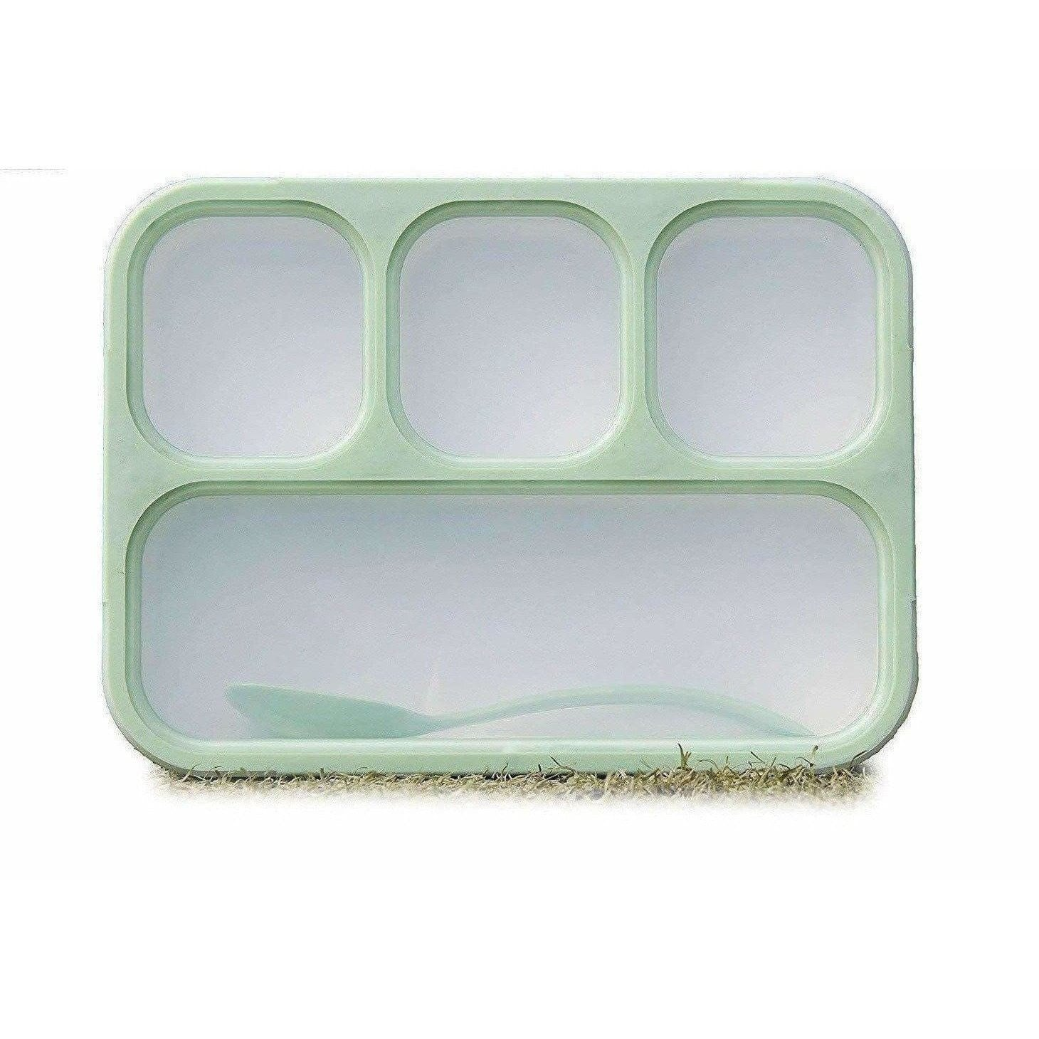 Compartments Grid Lunch Box for Kids
