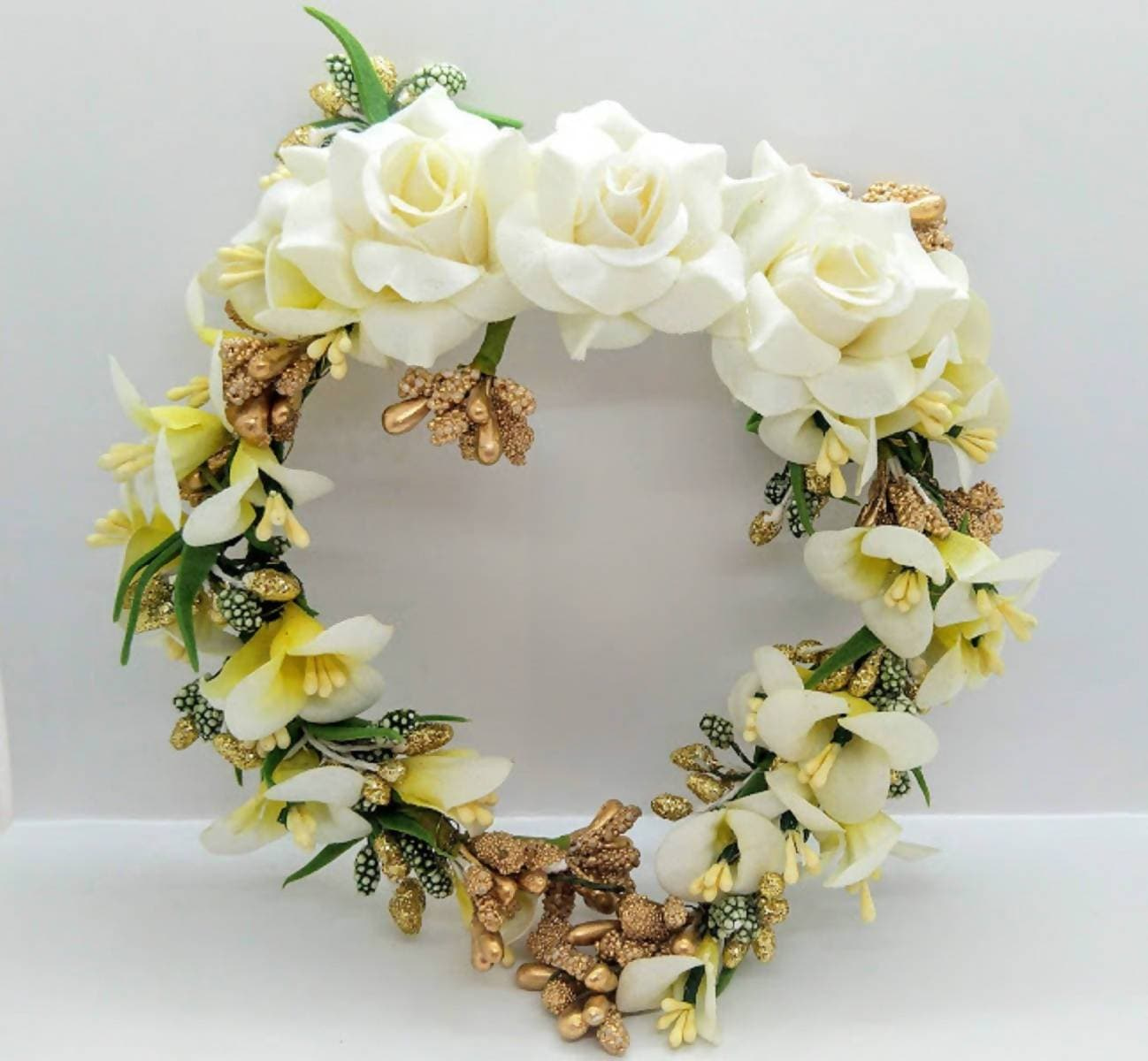 White Bridal Flower Hair Accessories
