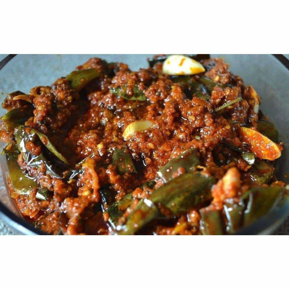 Brinjal Pickle / Baingan Pickle / Vankaya Pickle