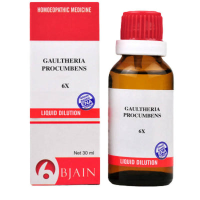 Bjain Homeopathy Gaultheria Procumbens Dilution - Distacart