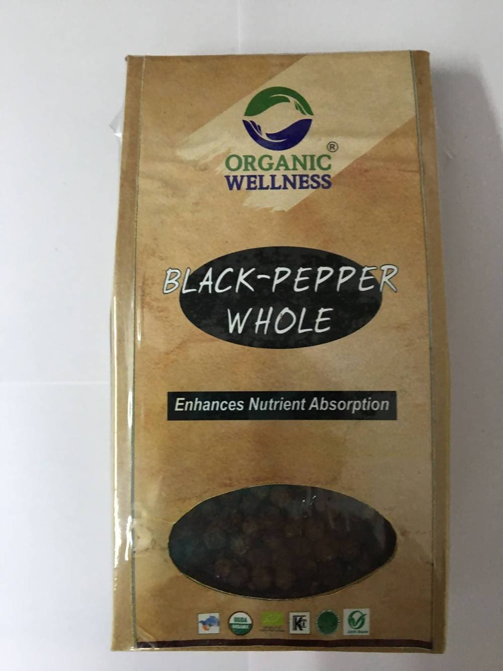 Organic Wellness Black Pepper Whole