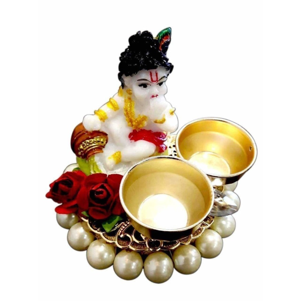 Little Krishna Haldi and Kumkum Holder