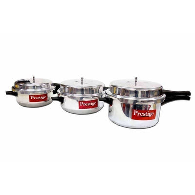 Prestige Popular Junior Deep Pressure Cooker (4.1 Lts)