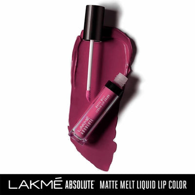 Lakme Absolute Matte Melt Liquid Lip Color-Mulberry Feast