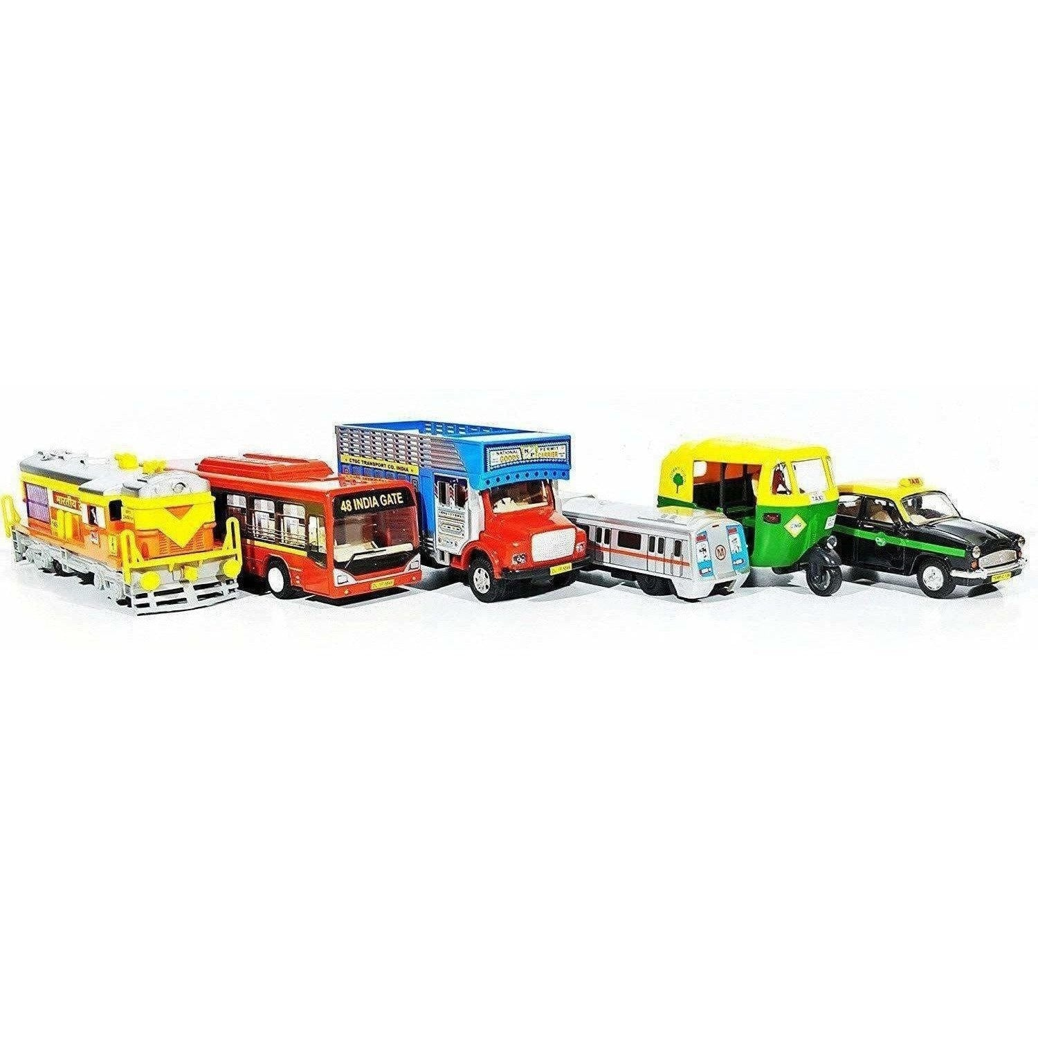 Indian Iconic Model Transport Kit - Combo Pack Of 6 - Dista Cart