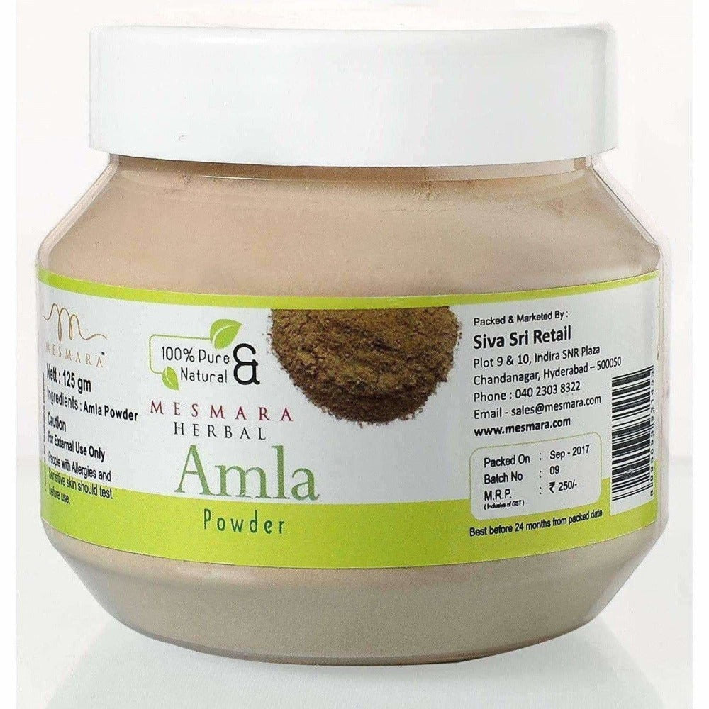 Mesmara Herbal Amla Powder 125 g - Distacart