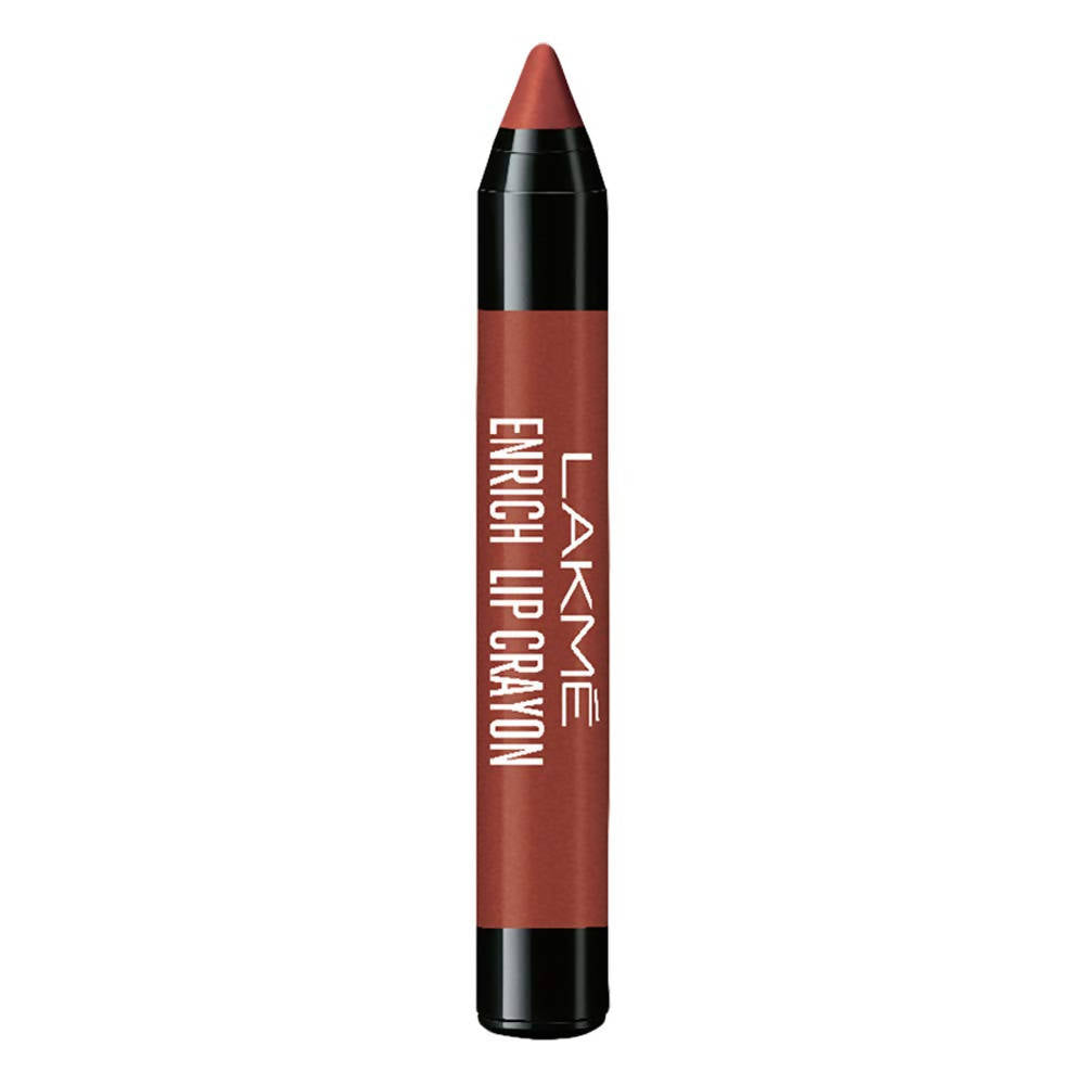 Lakme Enrich Lip Crayon - Cinnamon Brown