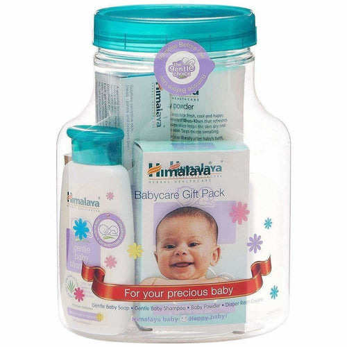 Herbals Babycare Gift Jar (Soap, Shampoo , Rash Cream and Powder) - Dista Cart