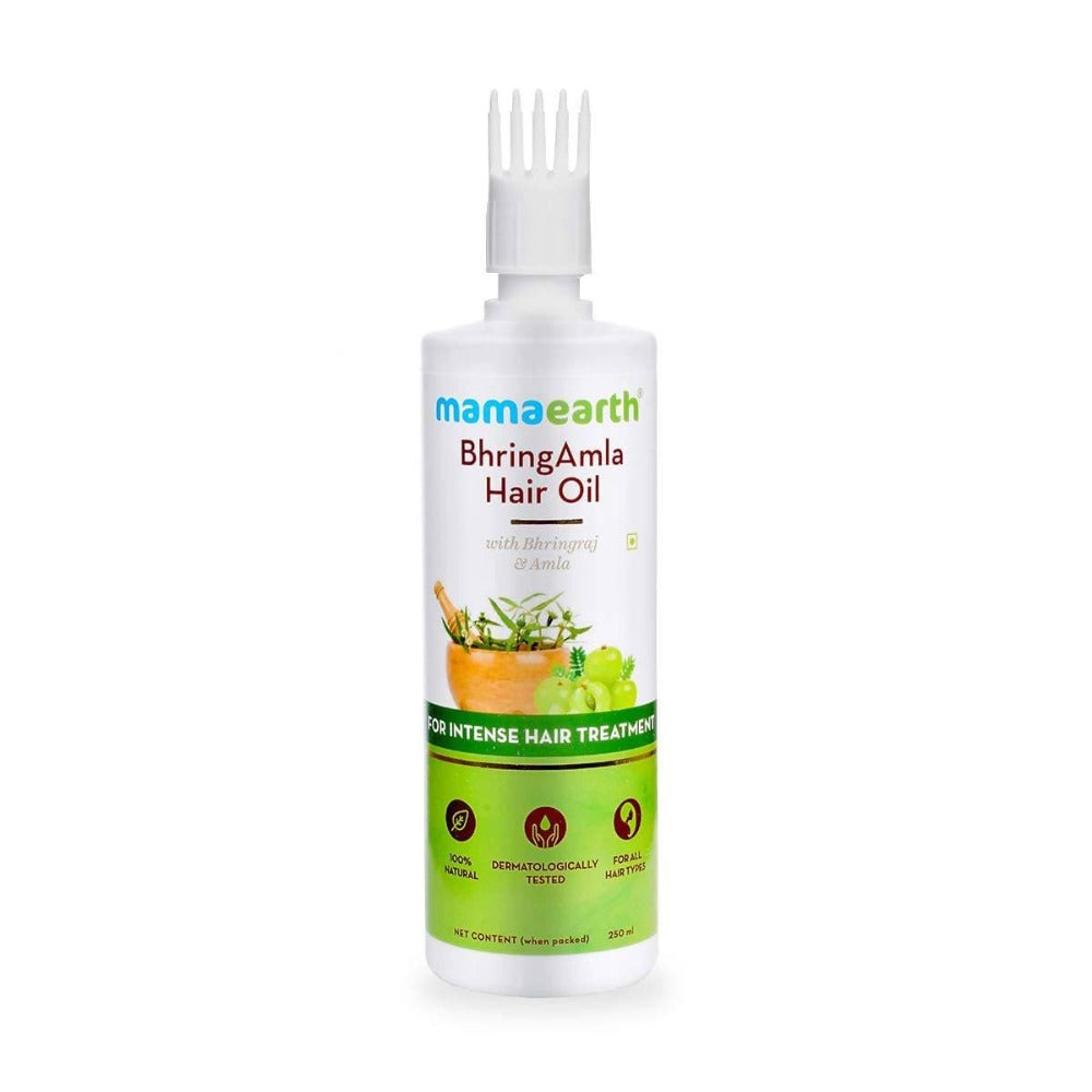 Mamaearth Bhringamla Hair Oil For Intense Hair Treatment