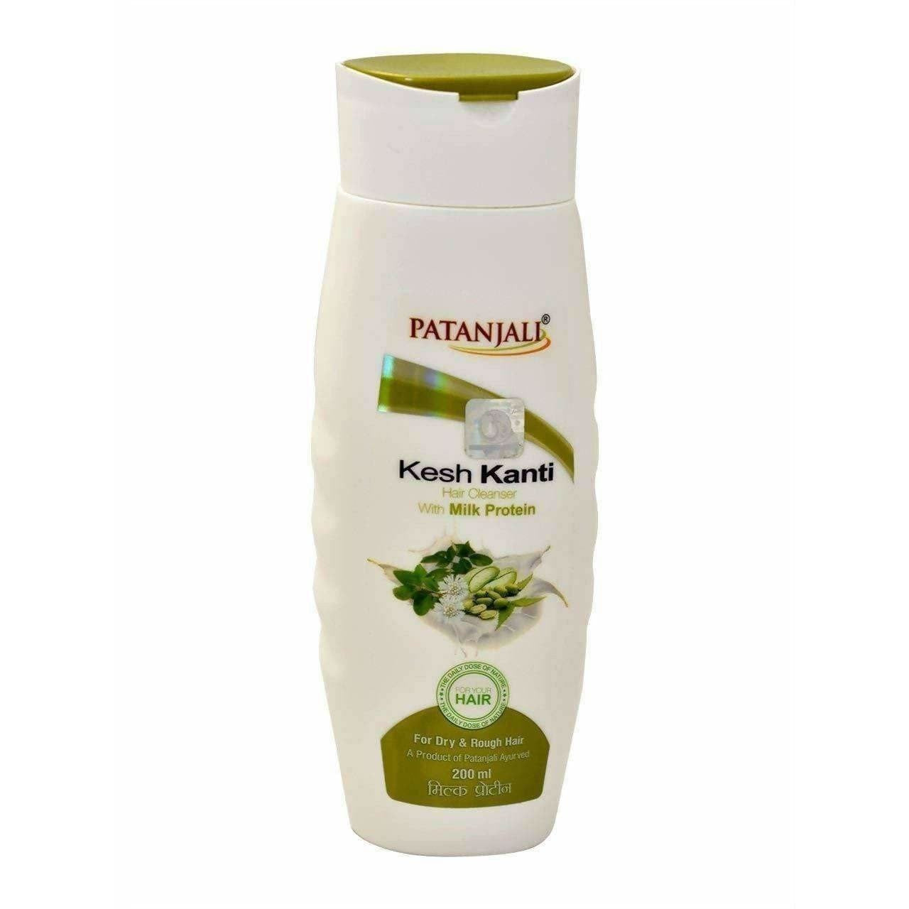 Patanjali Kesh Kanti Milk Protein Hair Cleanser (200 ML)