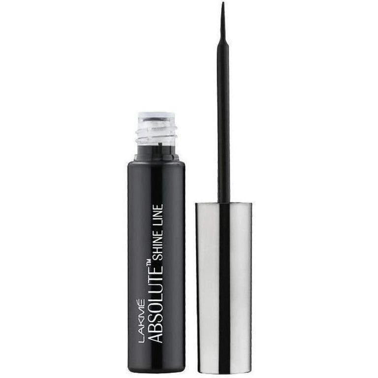 Lakme Absolute Shine Liquid Eye Liner, Black - 4.5 ml