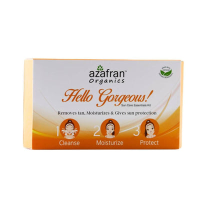 Azafran Organics Hello Gorgeous Sun Care Essentials Kit - Distacart