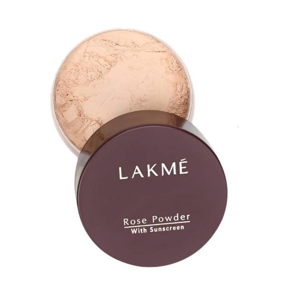 Lakme Rose Face Powder With Sunscreen - Soft Pink - Distacart