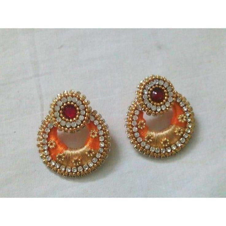 Multicolor Earrings with Stones