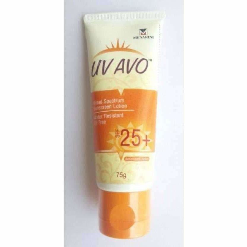 Menarini UV Avo Broad Spectrum Sunscreen Lotion - SPF 25+